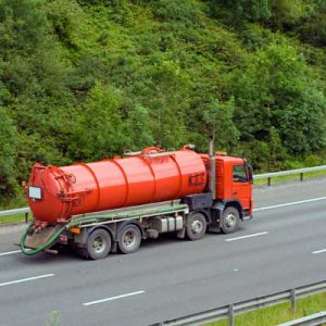Red Tank Truck